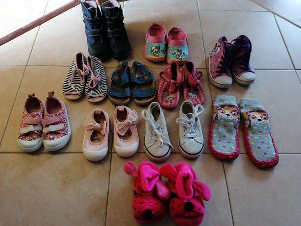 Zestaw butów dla dziewczynki 22 23