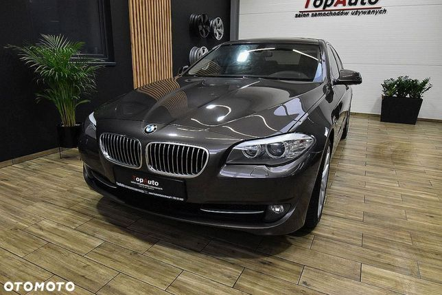 BMW Seria 5 PERFEKCYJNA*automat*navi*gwarantowany przebieg*BEZWYPADKOWA* FILM !