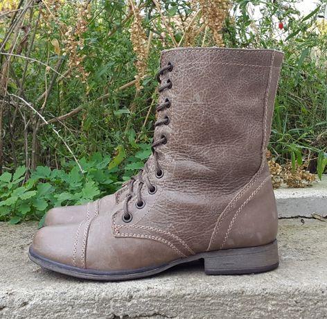 Кожаные демисезонные сапоги ботинки Steve Madden 36 р. оригинал