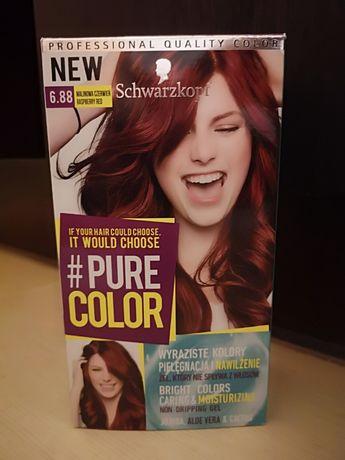 Farba do włosów Schwarzkopf malinowa czerwień