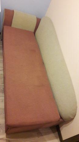Sofa rozkładana z szufladą