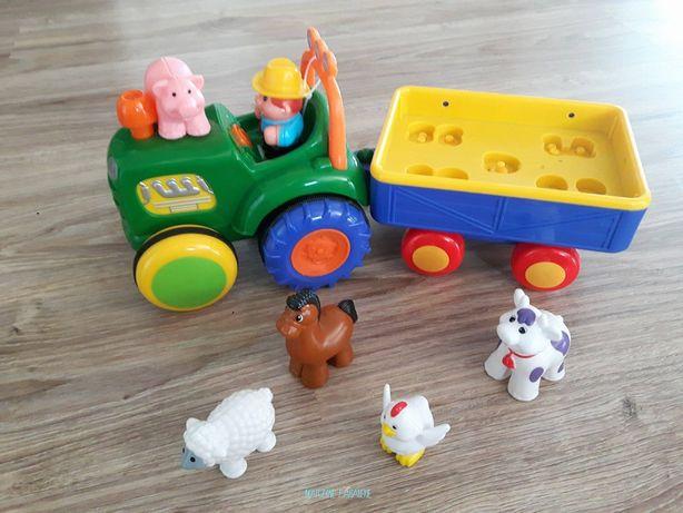 Traktor dumel zabawka interaktywna