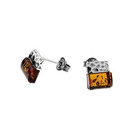 ankabizuteria.pl biżuteria srebrna komplet Srebrne kolczyki oksydowane