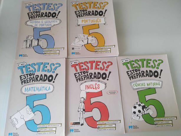 Estou preparado 5º ano ( livros de apoio escolar)