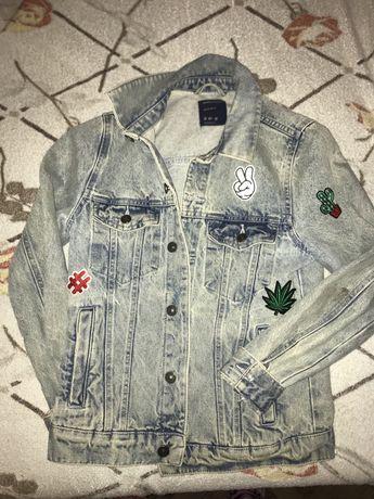 джинсовка bershka / джинсовая куртка