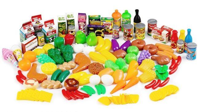 Warzywa i Owoce Duży Zestaw 120 el ZAG4001