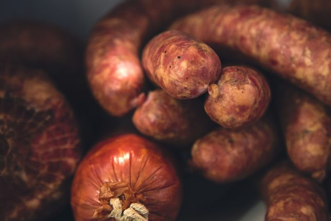 Kiełbasa wieprzowa od ROLNIKA -swojska i smaczna