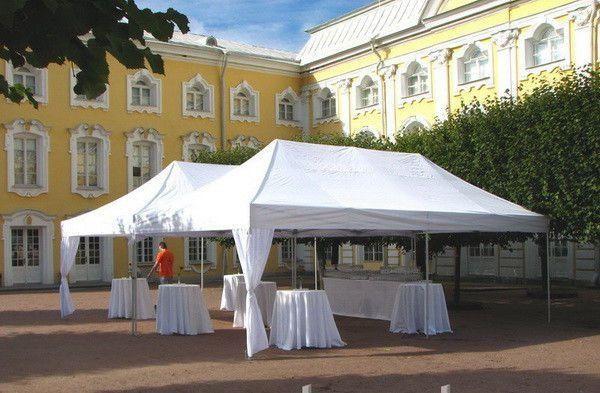 Чистка палаток, зонтов, шатров СКИДКА!
