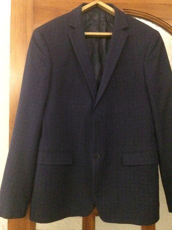 Мужской костюм брюки пиджак тёмно-синий GIOTELLI
