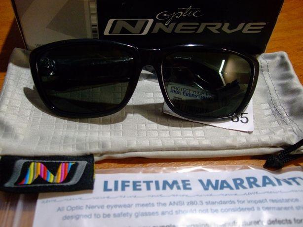 Очки для водителей Optic Nerve Vargas Polarized Black made in USA