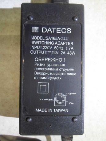 Блоки питания, зарядное на 24 вольта. Datecs SA165A-24U