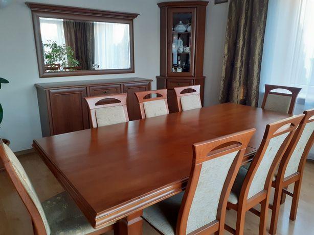Meble stół krzesła komoda witryny