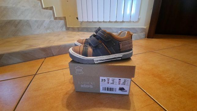 Buty chłopięce LASOCKI skórzane rozmiar 25