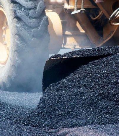 Доставка самосвалом 28-35т: асфальтная крошка, бетон б/у, песок,щебень