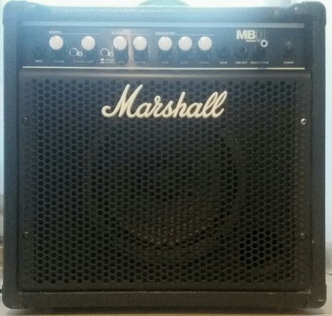 Wzmacniacz basowy Marshall MB 15 combo basowe gitara basowa bass piec