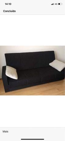 Sofa cama 230X96 cm em muito bom estado!