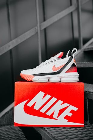 Buty Nike LeBrone 16 White/Pink 40-45 meskie trampki