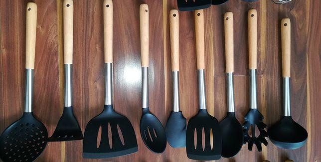 Przybory kuchenne (11 elementów), narzędzia, nowe, super jakość