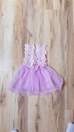 Sukienka dla dziewczynki r. 74/80