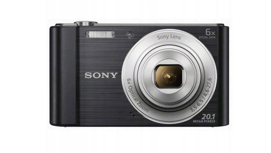 Aparat cyfrowy Sony Cyber-shot DSC-W810 HD Czarny Warszawa - image 1