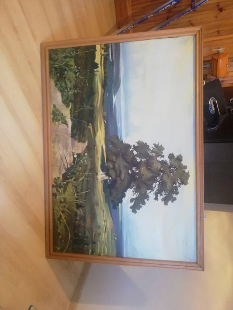 Obraz olejny / krajobraz