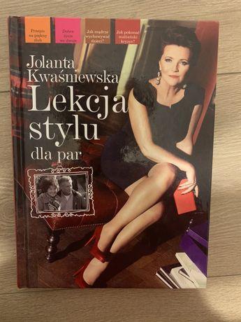 Lekcja stylu dla par - Jolanta Kwaśniewska