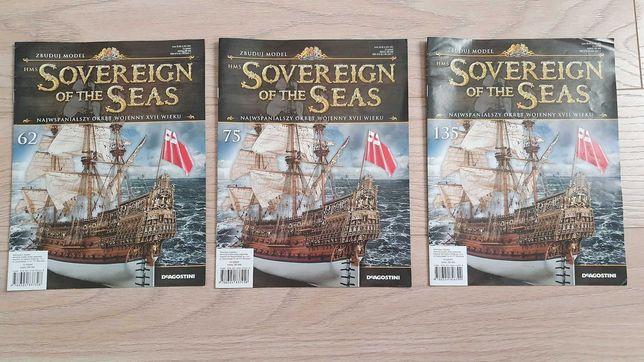 Sovereign of the seas - zeszyt / gazetka - nr 62, nr 75, nr 135