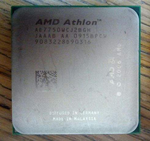 Процессор AMD Athlon X2 7750
