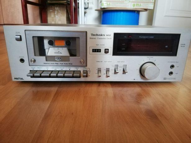 Magnetofon Technics RS-M12 stan bardzo dobry