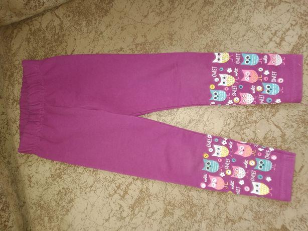 Лосіни на 2 р.штани для дитсадка, для дому. Осінні гамаши. Для девочки