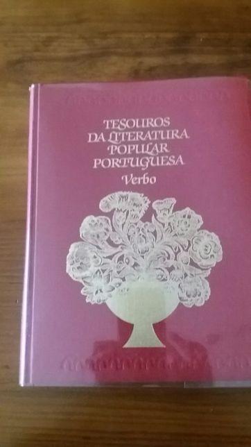 Livro Tesouros da literatura popular portuguesa