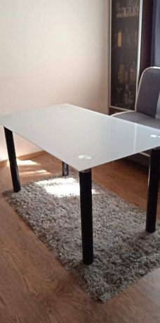 Stół szklany. 80x140