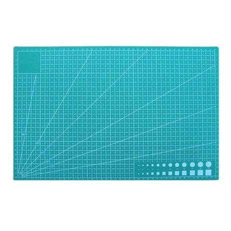 килимок (мат) для різання з розміткою А3 макетна дошка