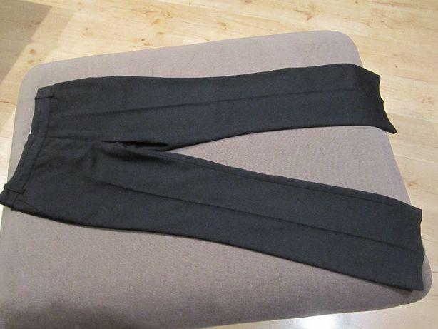 Spodnie z rozszerzaną nogawką czarne na kantkę NEXT rozm.36 UK6