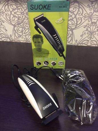 Машинка для стрижки волос триммер волосся машина усов