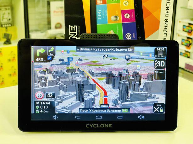 Cyclone ND 760and 16GB навигатор GPS android для грузового транспорта