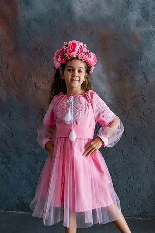 Шикарное платье-вышиванка
