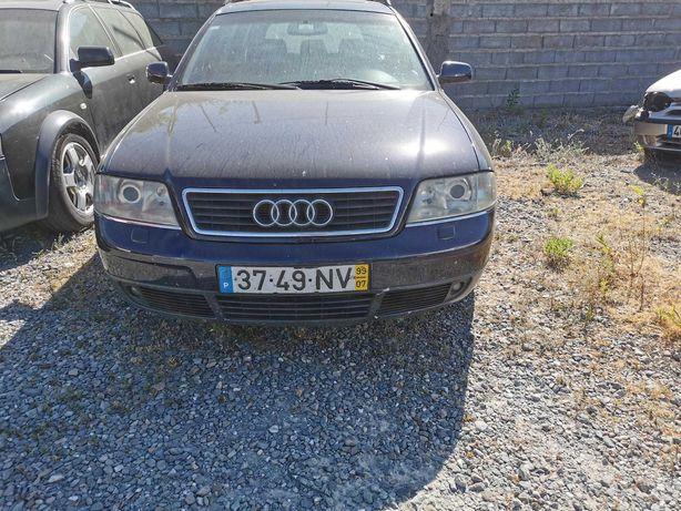 Vende-se Audi A6 2.5TDI (motor avariado) para recuperar ou para peças.