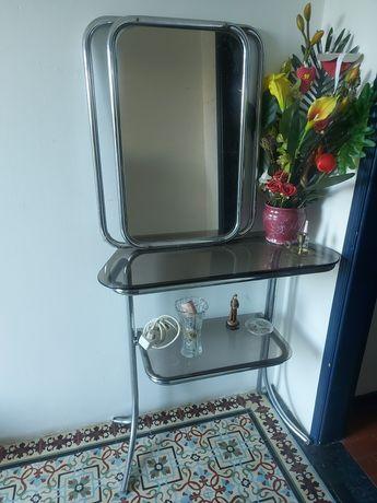 Conjunto espelho e mesa
