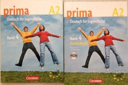 Prima-Deutsch fur Jugendliche A2 B3 / A2 B4/ В1 B5