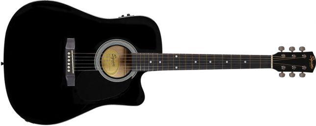 Guitarra Electro-Acústica SQUIER SA-105CE BLK