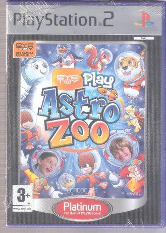 Jogo PlayStation2 EyeToy Play Astro Zoo Original