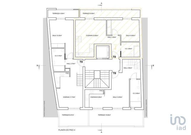 Apartamento - 63 m² - T2