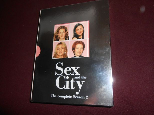 DVD-Sex and the City-The complete season 2