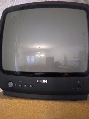 Televisão Philips a funcionar em pleno