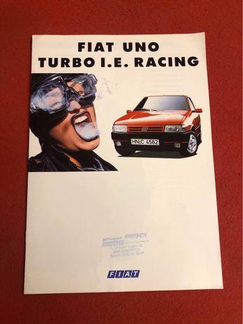 Catálogo Fiat Uno Turbo ie Racing