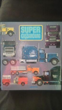 Album super ciężarówki firmy deagostini