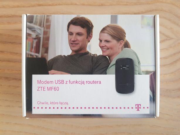 Nowy MODEM USB ZTE mf10 z funkcją routera