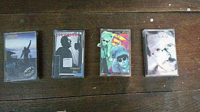 Zestaw kaset magnetofonowych. Oryginały