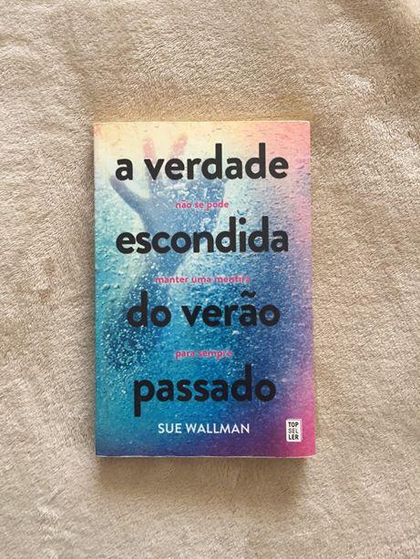 """Livro """"A verdade escondida do verao passado"""" de Sue Wallman"""